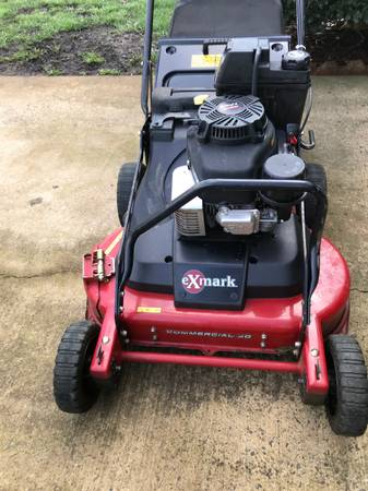 Photo An Exmark 30 Inch Walk Behind Commercial With Bagger - $1,495 (Charlotte)