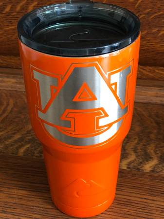 Photo Auburn Fans-7 New  Like New items Auburn Tumbler, plus more items - $15 (South Charlotte)