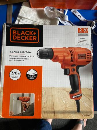 Photo Black and Decker drilldriver new - $25 (Matthewsstallings)