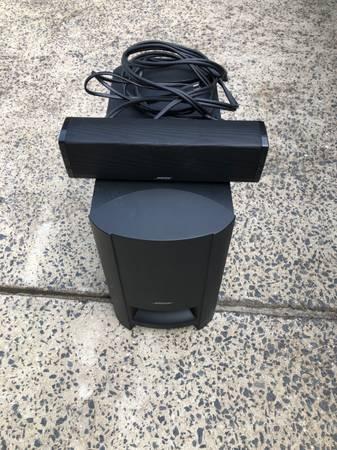 Photo Bose Cinemate 15 Home Theater Sound Bar System - $150 (Weddington)