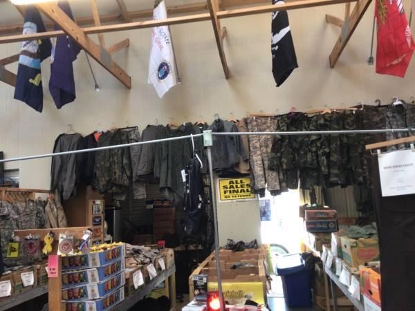 Photo Buy Sell Trade Military Surplus - $1 (Salisbury)
