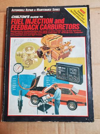 Photo Chiltons Guide to Fuel Injection and Feedback Carburetors 7488 - $10 (Salisbury)