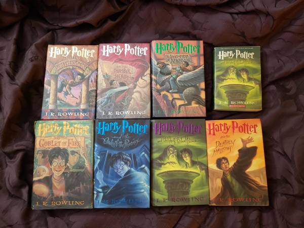 Photo Complete Harry Potter Hardcover Book Collection Years 1 - 7 - $50 (Ballantyne)