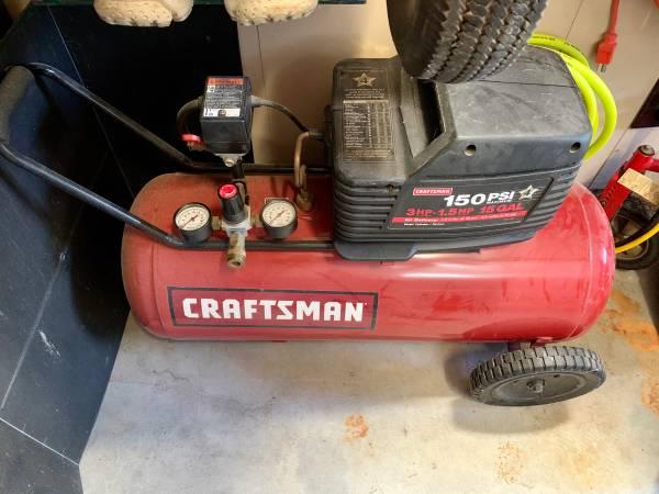 Photo Craftsman 15 Gal. Air Compressor - $95 (South Charlotte)