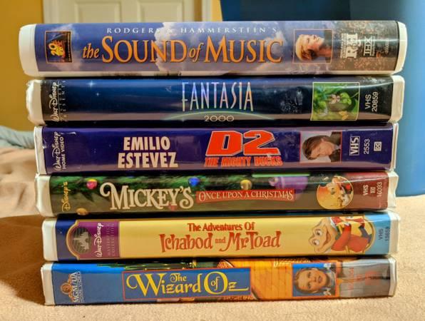 Photo DISNEY VHS tapes - $15 (Denver)