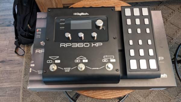 Photo Digitech RP-360xl with added foot switch - $150 (waxhaw)