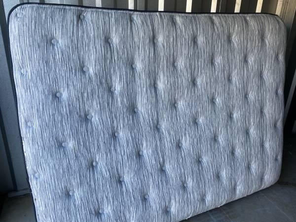 Photo Full size high end Simmons Plush Pillowtop mattress set - $120 (Cornelius, NC)