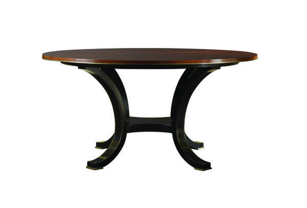 Photo HENREDON FURNITURE ACQUISTIONS PARIS YVON ROUND DINING TABLE 3301-20 - $750 (Cherryville)