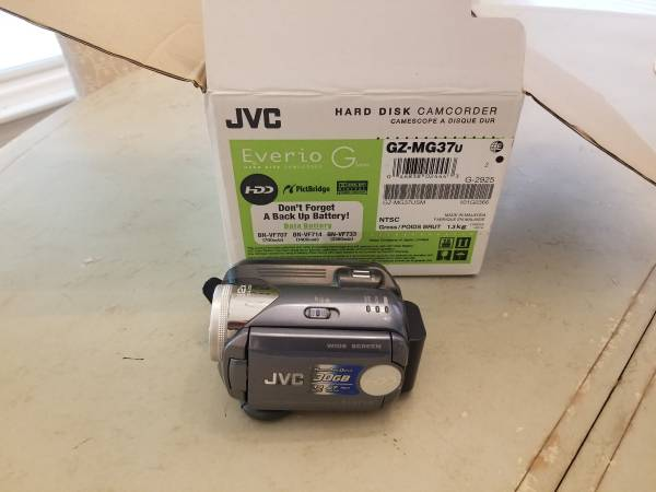 Photo JVC 30G Camcorder - $75 (Cornelius)
