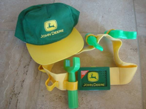 Photo John Deere Licensed Items-Talking Tool Belt,Hats.Girls T,Mens Shirt - $8 (Lake Wylie, SC)