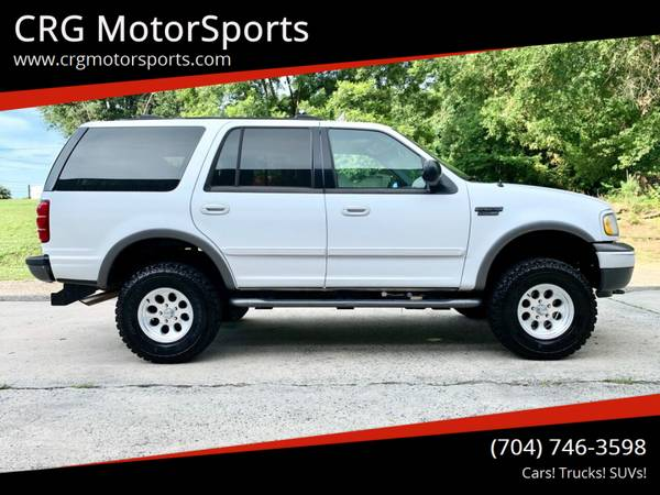Photo Lifted Ford Expedition New Wheels  Tires Nice SUV - $5900 (MOORESVILLE  CRGMOTORSPORTS.COM)
