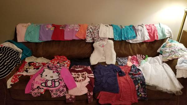 Photo Lot 1 of girls clothes size 4T - $20 (Waxhaw)