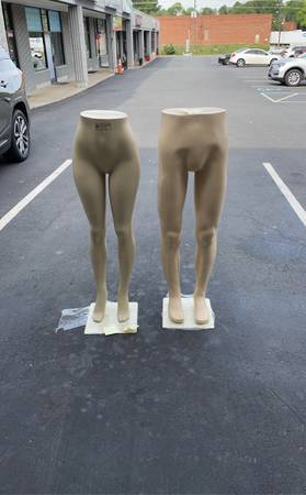 Photo Mannequins, New Male or Female Legs - $55 (Matthews)