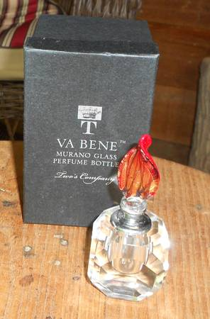 Photo Murano Glass Perfume Bottle - $10 (Mooresville, NC)