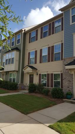 Photo Nearly new 3-Story Townhouse in central City Park Community (Charlotte (City Park))