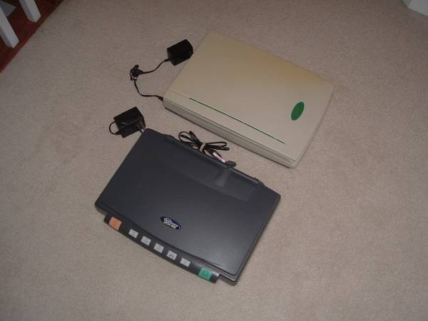 Photo ONETOUCH and MUSTEK FLATBED SCANNERS  Old School - EC and NEW - $10 (UNCC - Harrisburg)