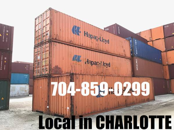 Photo ONLY $2000 used 4039 conex container mini storage containers PODS shed - $2,000 (Local in Charlotte)
