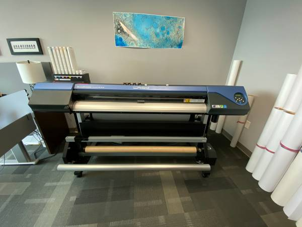 Photo Roland VS-540 Wide Format Solvent Printer 54quot with Take Up Reel - $8300 (Charlotte)