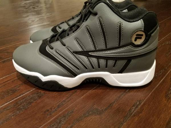 Photo Shoes Mens High Top Fila Gray NEW - $35 (South Charlotte)