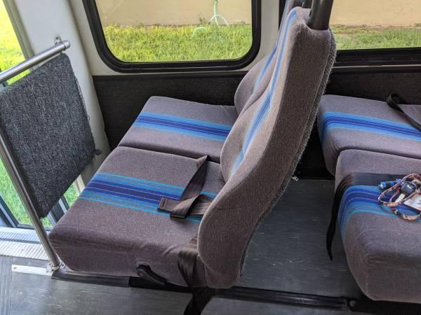 Photo Shuttle bus seats - $150 (Kannapolis)