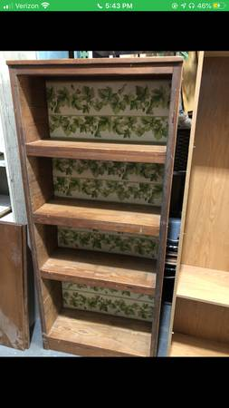 Photo This End Up bookcase - $100 (Mooresville)