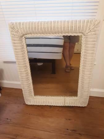 Photo White Wicker Furniture - $20 (NW Concord)