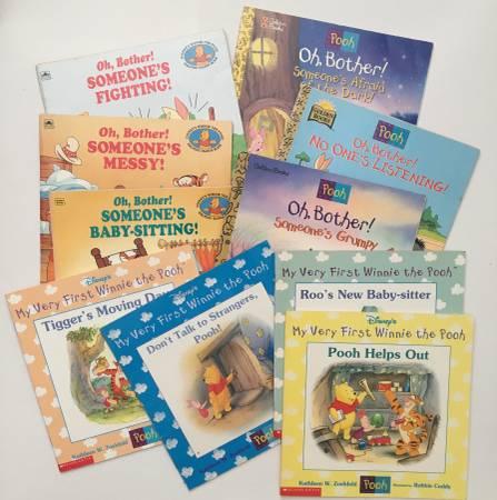 Photo Winnie the Book Paper Back Books - $10 (Huntersville)