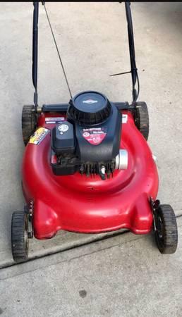 Photo Yard Machines 158 CC Push Mower - $110 (Charlotte)