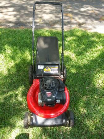 Photo Yard Machines Mower 550EX - $110 (Charlotte)