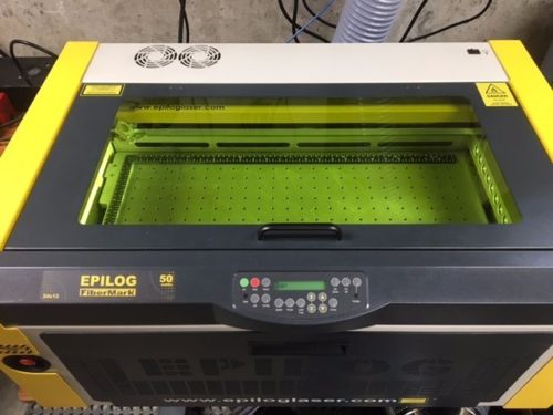 Photo Epilog FiberMark 50 Watt Fiber Laser Engraver 24x12 Table