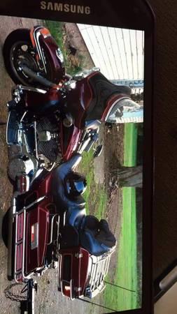 Photo 2000 harley ultra plus trailer - $7,000 (Brocton)