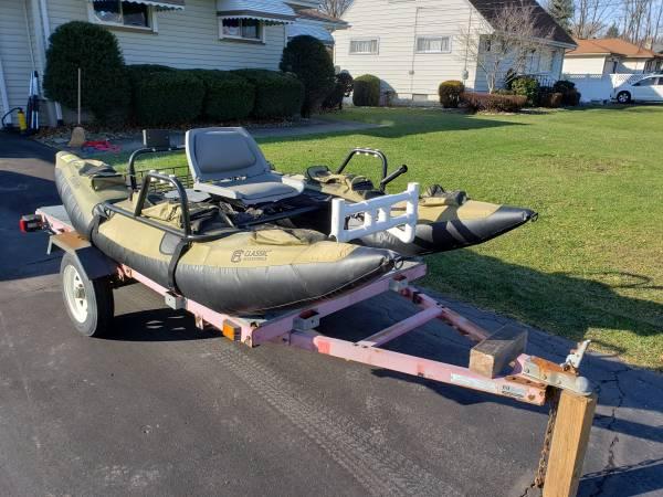 Photo Colorado Accessories Inflatable Pontoon Boat - $600 (Hermitage)
