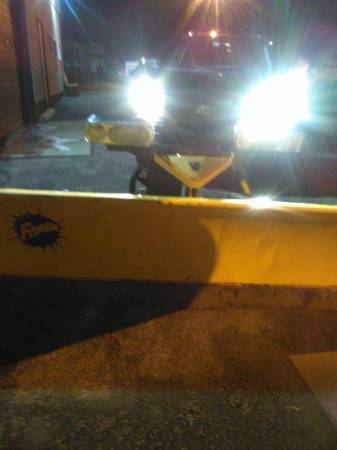 Photo Fisher 7 12 ft Minute Mount 2 Storm Guard Complete Snow Plow - $1800