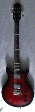Photo Hamer Archtop Guitar - $600 (Fredonia)