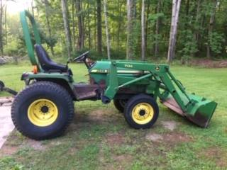 Photo John Deere 955 tractor wloader - $9,000 (Fairview PA)