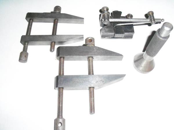 Photo Machinist Tools - Cls, Surface Gauge, Center Punch (Fredonia, NY)