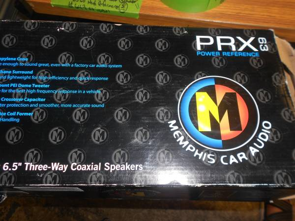 Photo Memphis Car Audio 6.5 Three way Coaxial Speakers model PRX-63 - $72 (Niagara Falls)