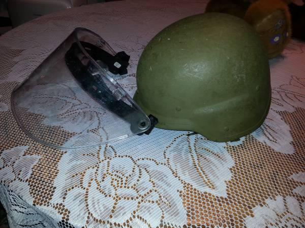 Photo Military Kevlar Riot Helmet - $60 (Dunkirk)