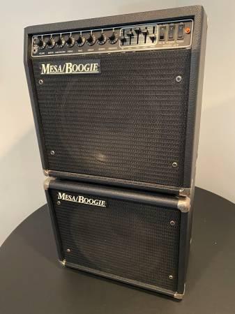 Photo Rare Mesa Boogie Studio 22 Mini Stack GuitarAmp wMatching Cab - $1,100 (Amherst)