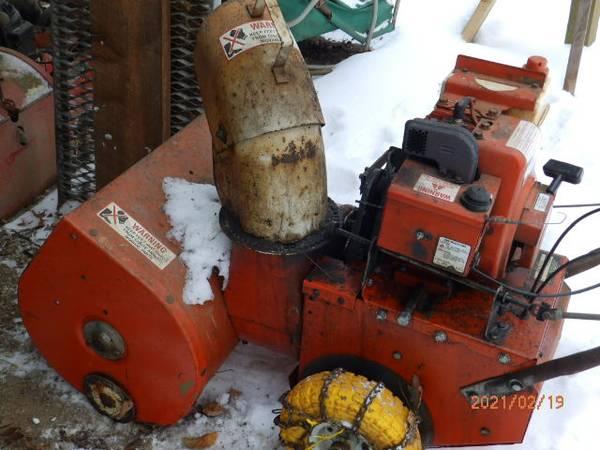 Photo Sears Craftsman 22 inch snowblower - $40 (KENNEDY)