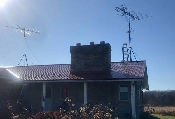 Photo Two Extreme Long Range HD TV Antennas For Sale - $150 (Stockton, NY)