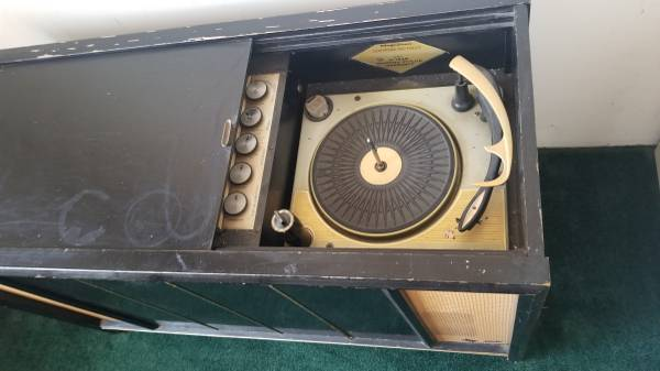 Photo Vintage console stereo (Lackawanna)