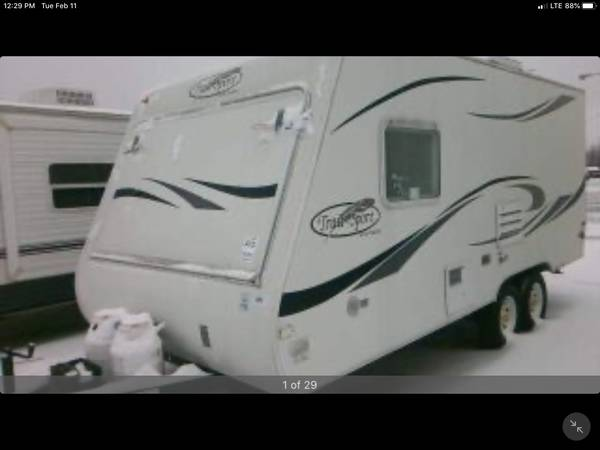 Photo WINTER LAY AWAY PLAN-2008 R-VISION trail sport TSE 191 travel trailer - $3995 (Cassadaga, ny)