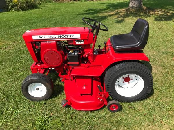 Wheel Horse Lawn Tractor 1400 Falconer Ny Garden Items For Sale Chautauqua Ny Shoppok