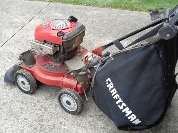 Photo craftsman propelled yard vacuum 6.5 hp - $450 (Depew, NY)