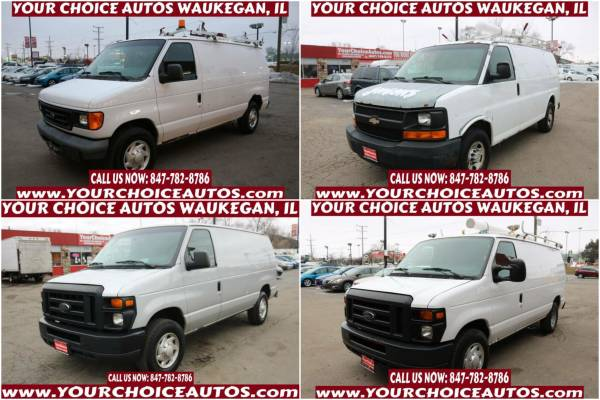 Photo 07 FORD E250 CARGO  COMMERCIAL VAN HUGE CARGO SPACE SHELVES ROOF RACK - $4,999 (FORD E-SERIES CARGO E-250 WWW.YOURCHOICEAUTOS.COM)
