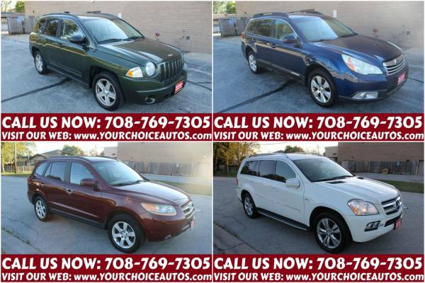 Photo 08 JEEP COMPASS  11 OUTBACK  08 SANTA FE  10 MERCEDES-BENZ GL-CLASS - $5,999 (JEEP COMPASS WWW.YOURCHOICEAUTOS.COM)