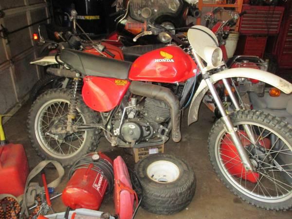 Photo 1975 76 HONDA MR250 ELSINORE - $1,800 (Elgin)