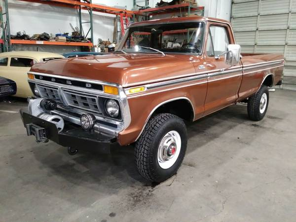 Photo 1977 Ford F-250 Custom Trim Level - $12500