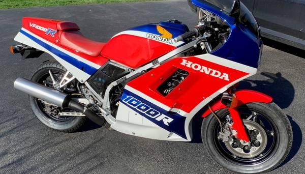 Photo 1986 Honda VF1000R - $11,000 (Crystal Lake)